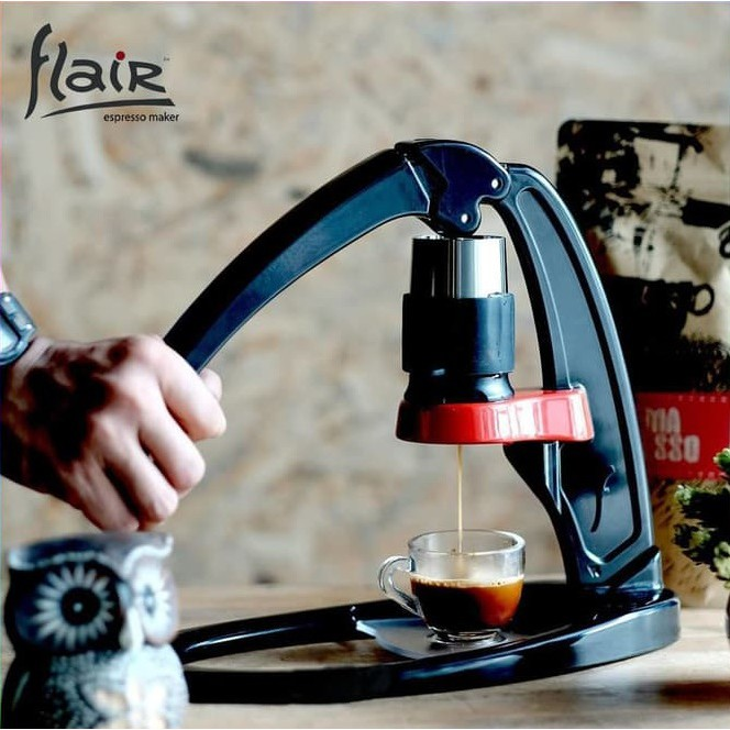 Alat Kopi Flair Espresso Maker Black - Manual Espresso Coffee Maker. Ke Toko
