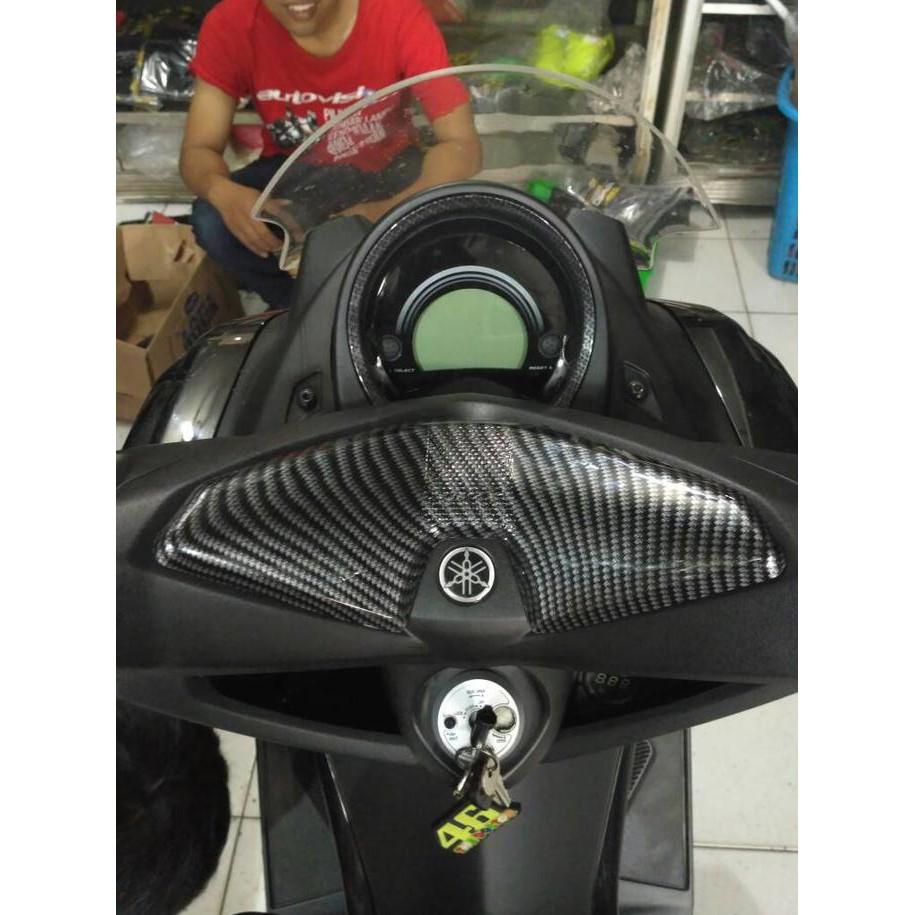 Cover Body Depan Yamaha Aerox 155 Carbon Merk Nemo Shopee Indonesia Radiator Tutup