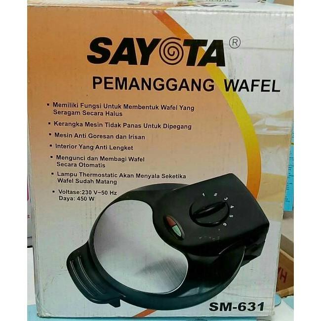 SAYOTA 2in1 Sandwich & Waffle Maker SM-609 . Source · Dapatkan Harga Pemanggang Rice Cooker & Penghangat Diskon | Shopee Indonesia