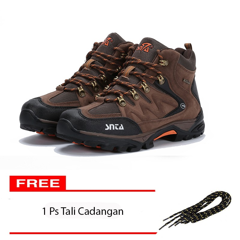 sepatu tactical outdoor salomon import vietnam ( coklat   biru   orange )  d0eb30039f