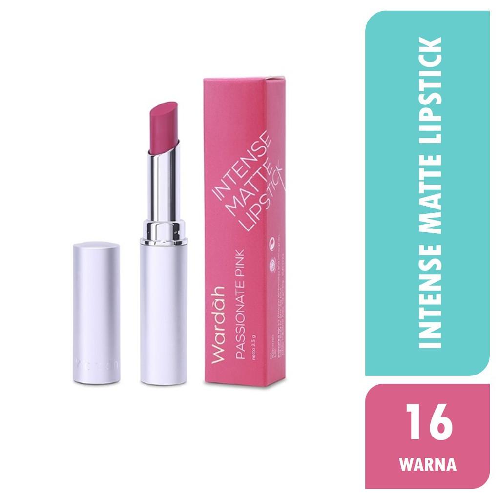 Wardah Intense Matte Lipstick Shopee Indonesia Lipstik No9