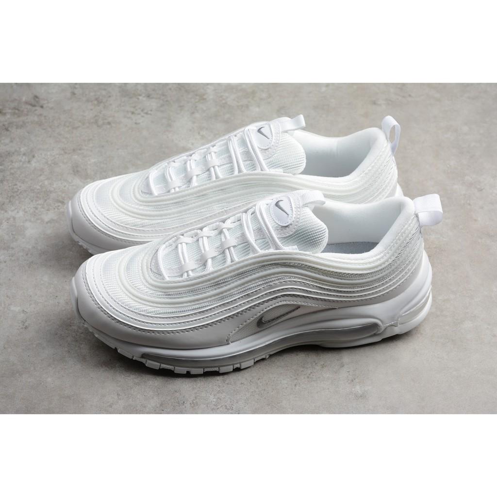 Original Sepatu Nike AIR MAX 97 Sepatu Full White Hollow Air Cushion Running Priawanita