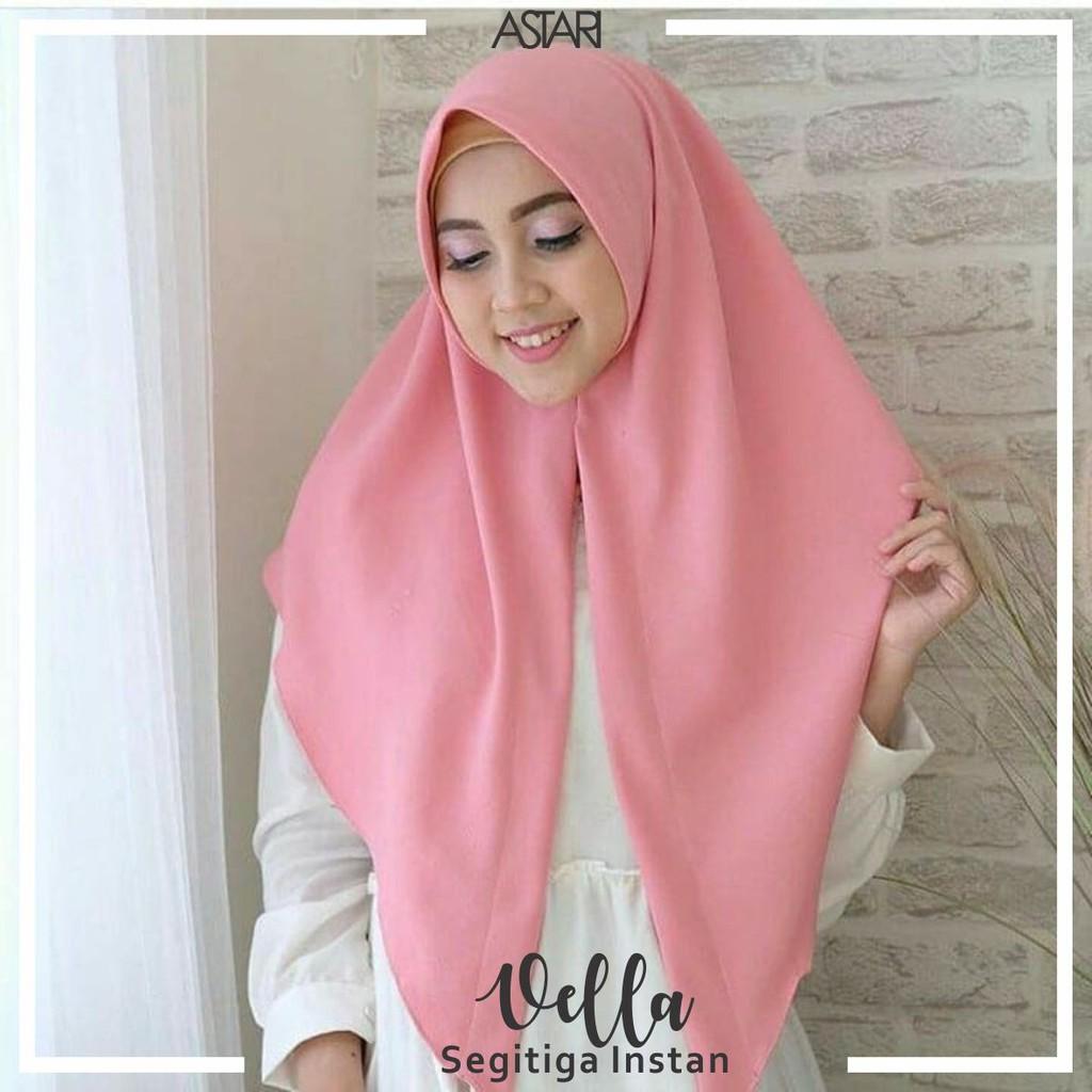 Jilbab Pashmina Instan Adzkya 1 Lubang Shopee Indonesia Hijab Hana Loop