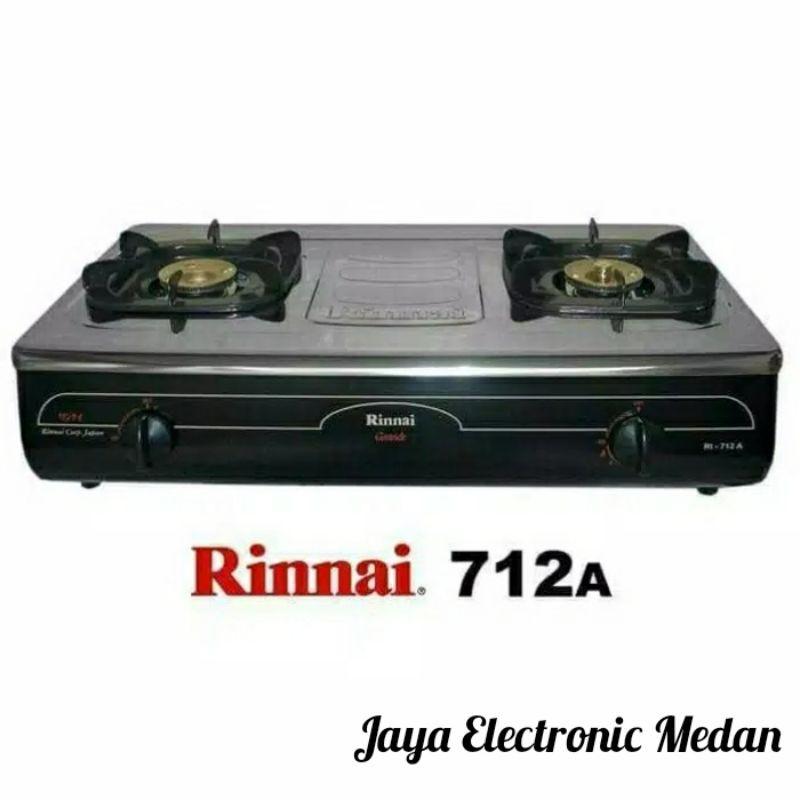 RINNAI Kompor Gas 2 Tungku Jumbo RI - 712 A
