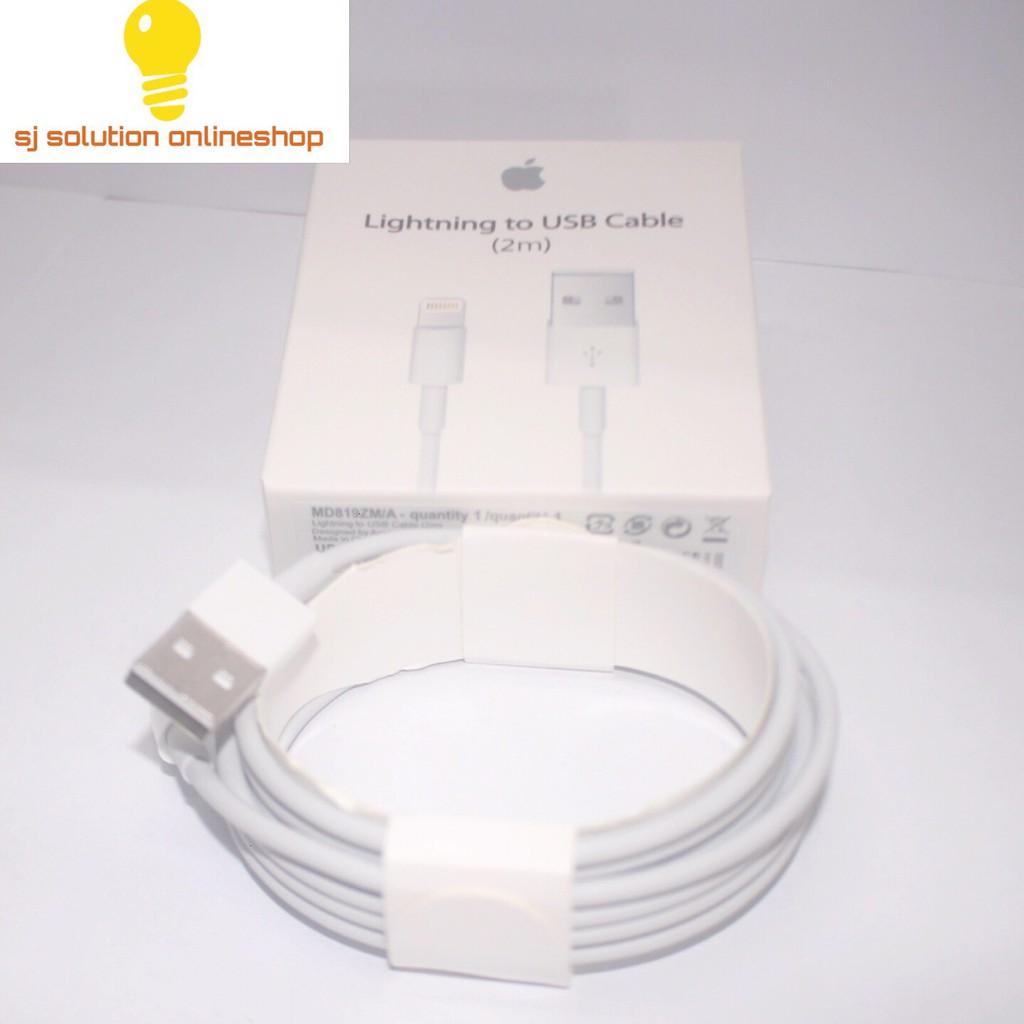 Dapatkan Harga Lightning Cable Diskon Shopee Indonesia Iphone Ubox Denim Onetime Warranty Hitam
