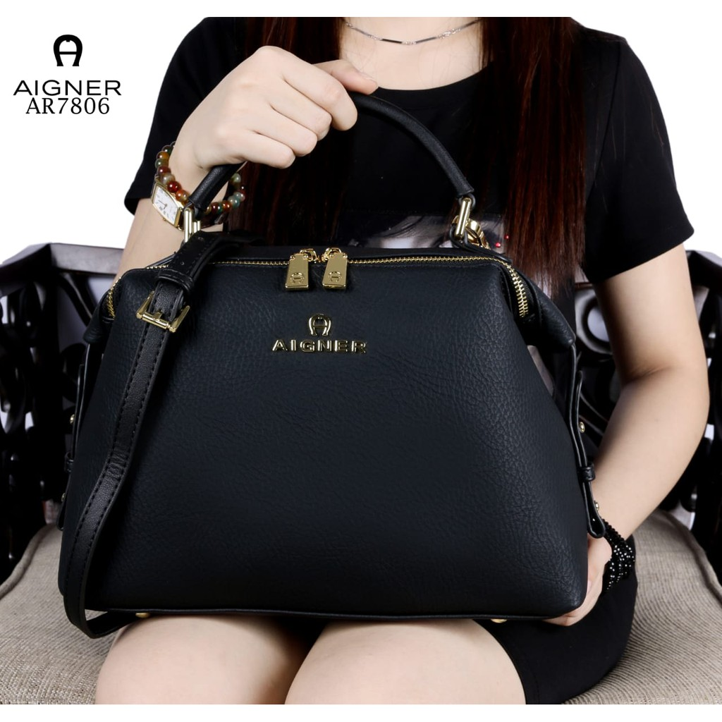 AIGNER Modelista Like ori Soft Leather Hardware Gold(AR7638) WS  081a9c7794