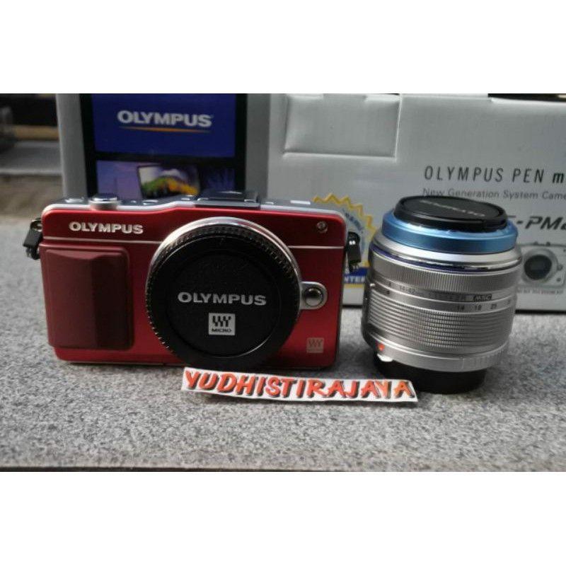 Olympus E PM2 Kit 14-42mm II R MSC Garansi Resmi