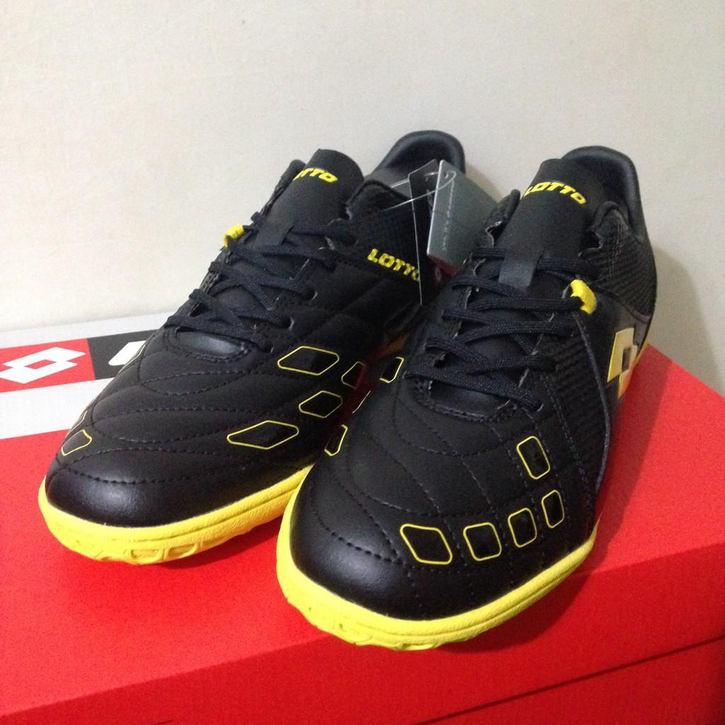 Promo Terbaru Sale Sepatu Futsal Lotto Squadra IN Black Sunshine L01040010  Original BNIB  f6b57e1ec1