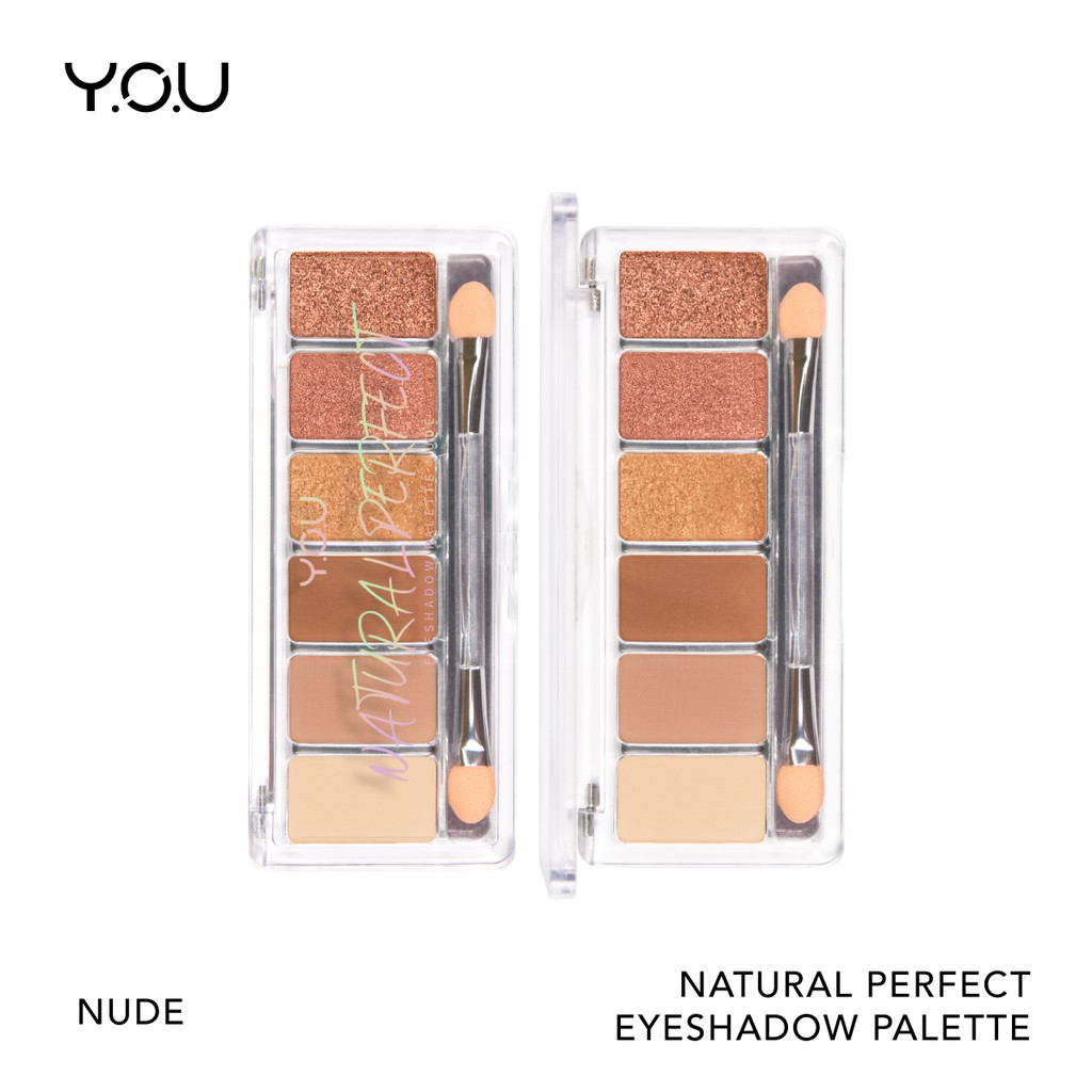 YOU Basic Collection Natural Perfect Eyeshadow Palette [Rich Pigmentation] #0