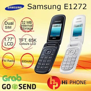 Harga preferensial Samsung Caramel GT- E1272 - Flip Phone - New - Dual SIM buy now - only 180.120Rp