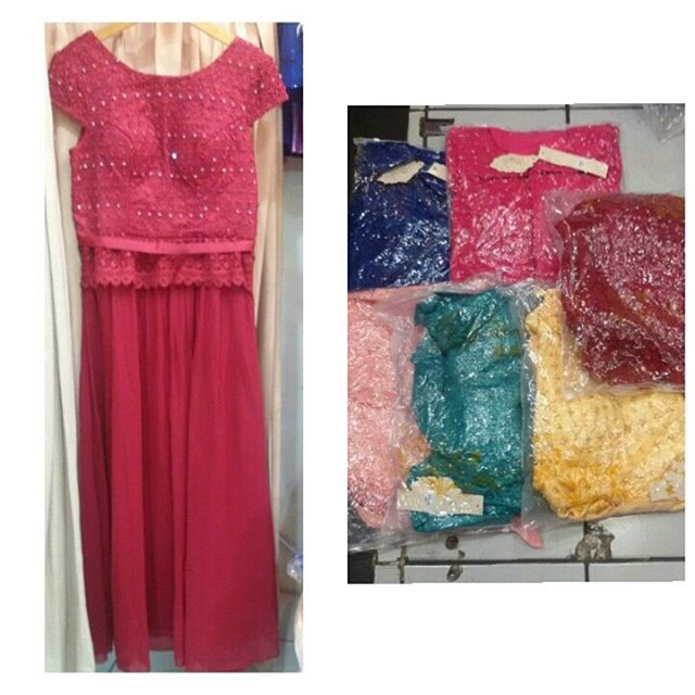 Gaun Pesta Mewah Dress Pesta Tutu Party Dress Elegan Premium Dress