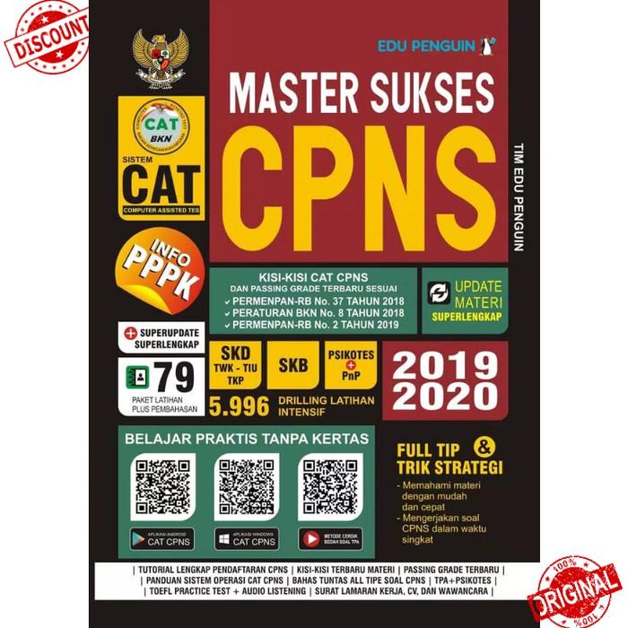 Master Sukses Cpns Cat Pppk Skd Skb 2019 2020