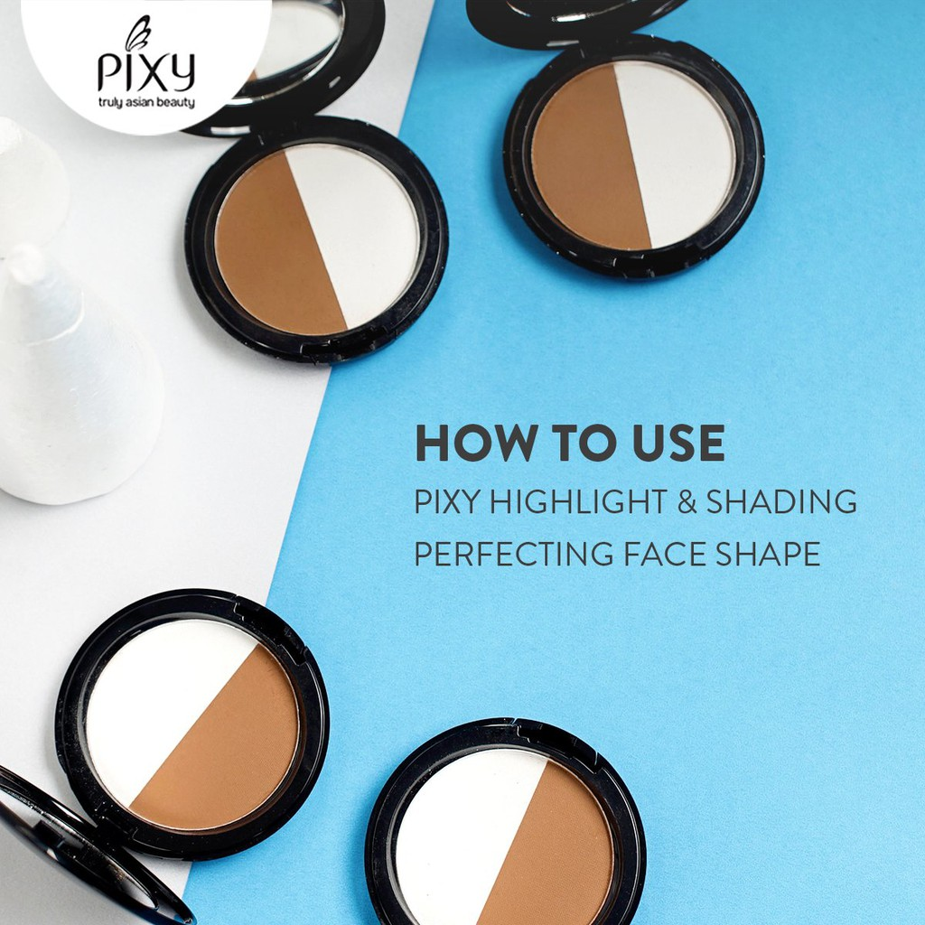 100% ORIGINAL PIXY HIGHLIGHT AND SHADING PERFECTING FACE SHAPE | Shopee Indonesia