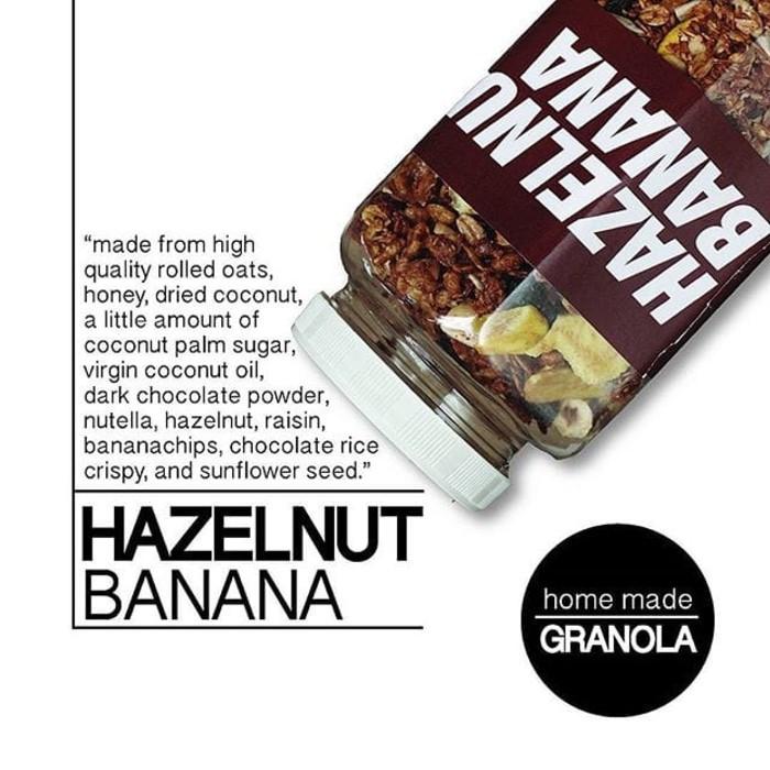Olla Granola DARK CHOCOLATE 500gr / Healthy Snack Muesli Diet Sehat | Shopee Indonesia