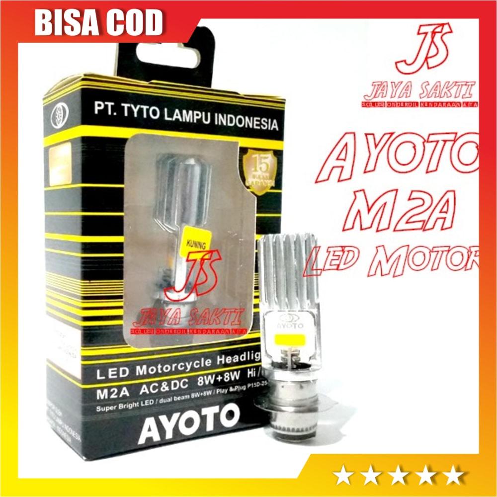 READY Led Ayoto Kuning M2A H6 - Putih BERKUALITAS