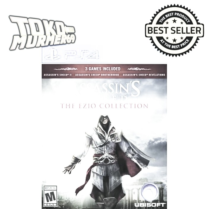 Kaset Game Bd Ps4 Assassin S Creed The Ezio Collection Gbp872