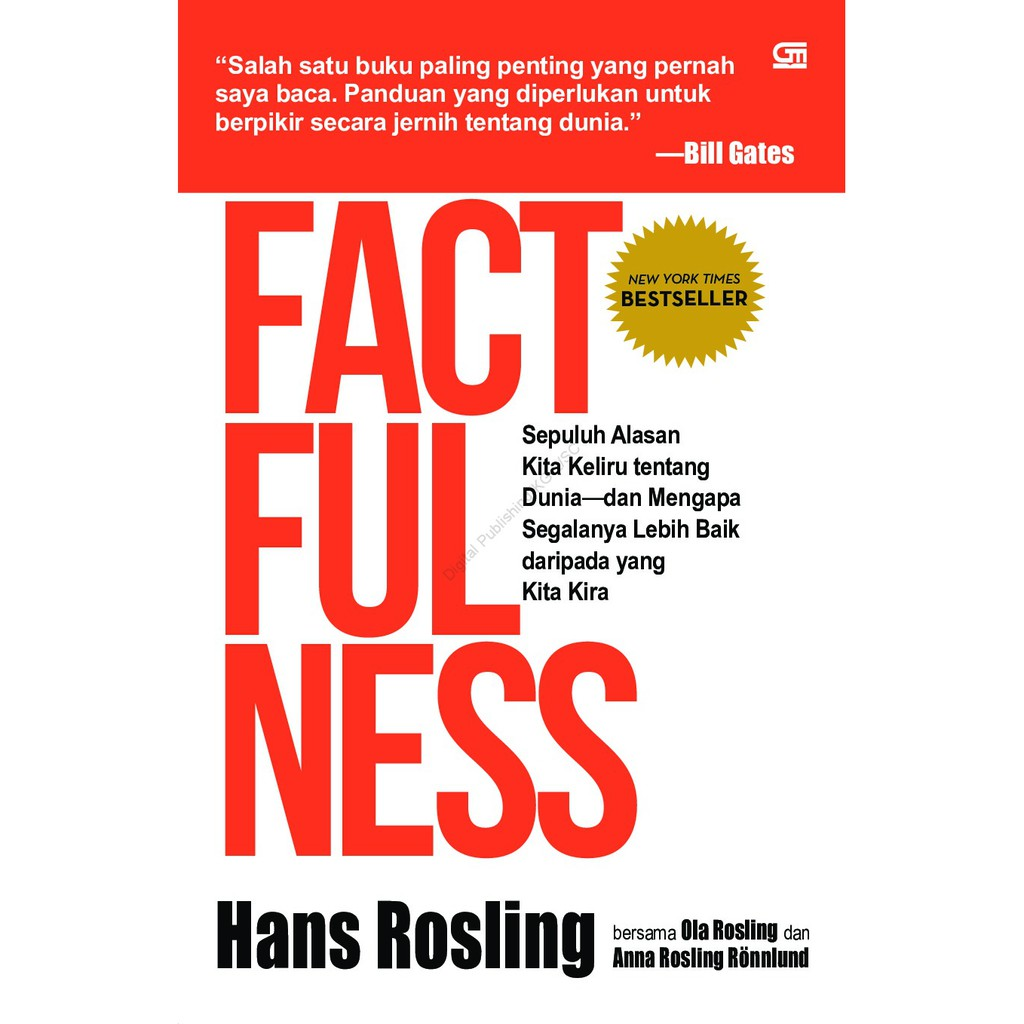 Factfullness Buku Digital Pdf Shopee Indonesia