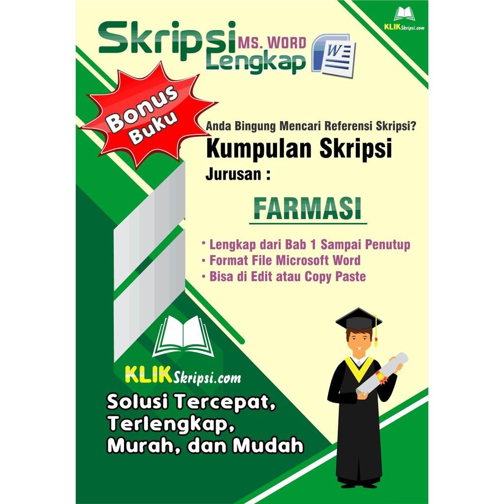 Skripsi Farmasi Plus Link Download Shopee Indonesia