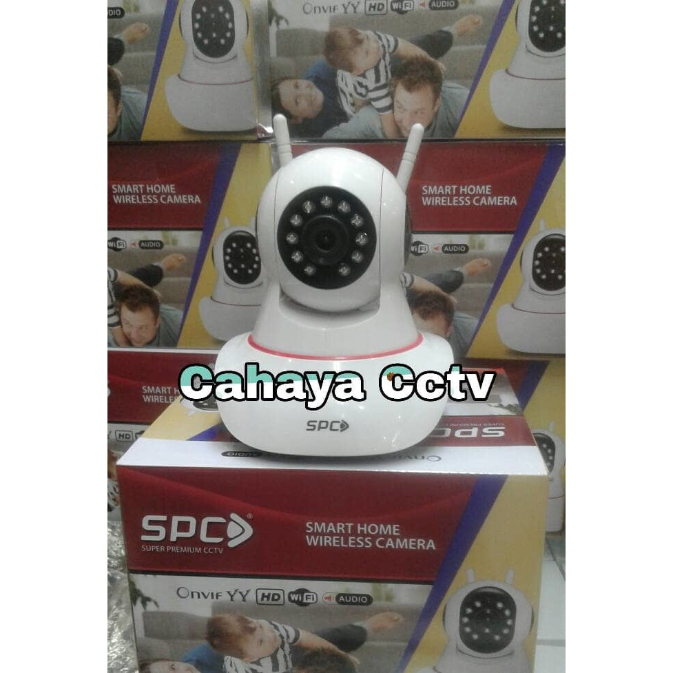 Diskon Ip Cam Camera Cctv Dual Antena 720p Hd Wireless Spc Smart Home Antenna 2 Ir Night Vision Shopee Indonesia