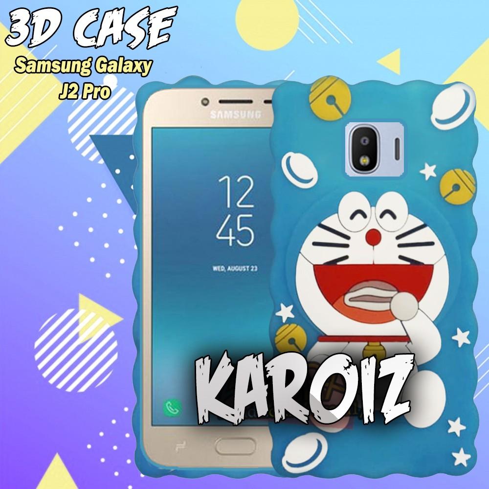 3D Case Samsung Galaxy J2 Prime / Grand Prime Softcase 4D Karakter Boneka Hello Kitty Character