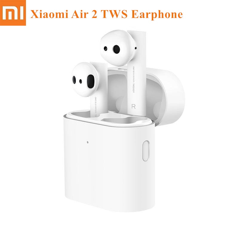 Xiaomi Air 2 Earphone Tws Wireless Bluetooth 5 0 Earbuds Lhdc Stereo Enc Noise Cancelling Headphone With Charging Box Shopee Indonesia