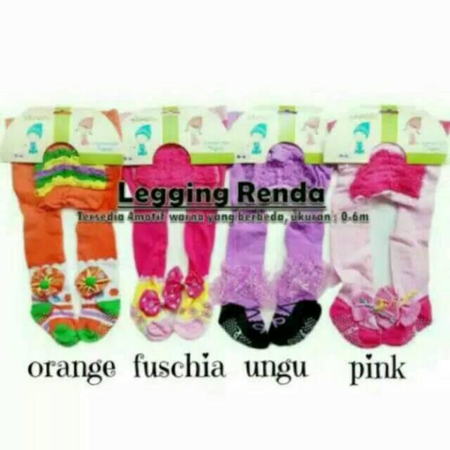 Legging Renda Bayi Baru Lahir Celana Bayi Stocking Bayi Leeging Baby Girl Newborn Legging Tutup Kaki Shopee Indonesia