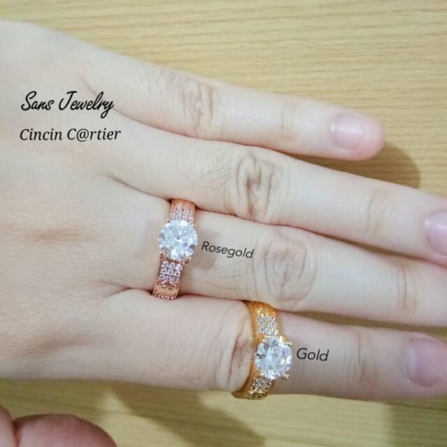 Promo Cincin Silver Mata Swarovski Perhiasan Aksesoris Korea Kilat Anti karat Ready Adc Gfs tgb   Shopee Indonesia