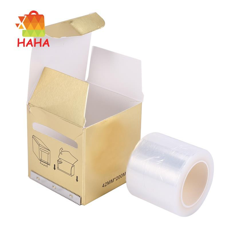 1x Semi Permanent  Embroidery Barrier Film Clear Masking Film