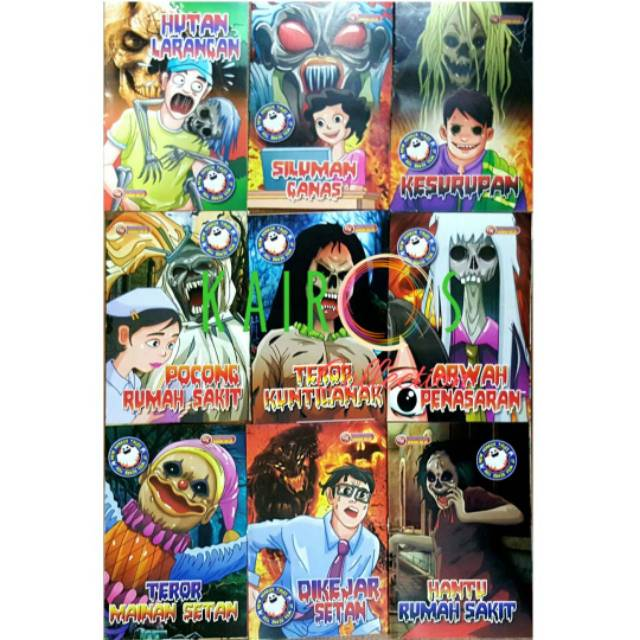 Komik Horor Shopee Indonesia