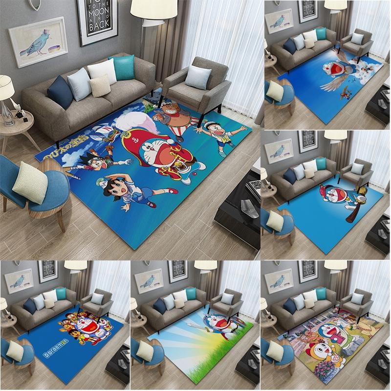 Karpet Pola Doraemon Gaya Nordic Untuk Ruang Tamu Kamar Tidur Dan Meja Kopi Shopee Indonesia