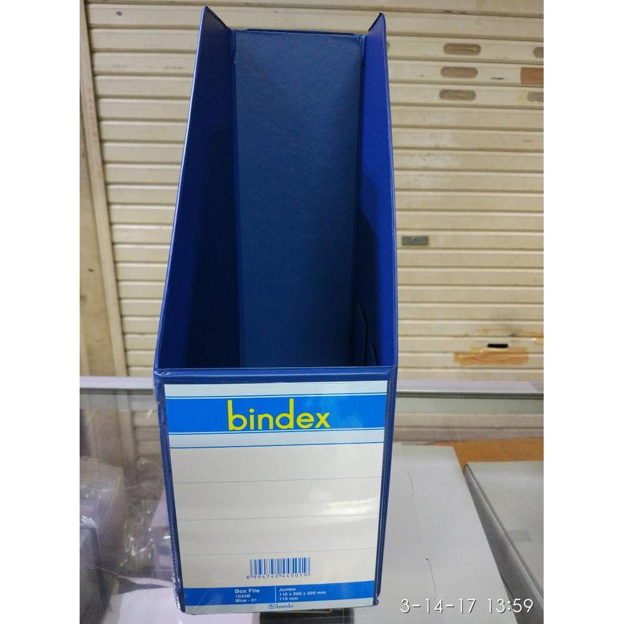 Box File Bindex Shopee Indonesia Folder Alat Tulis