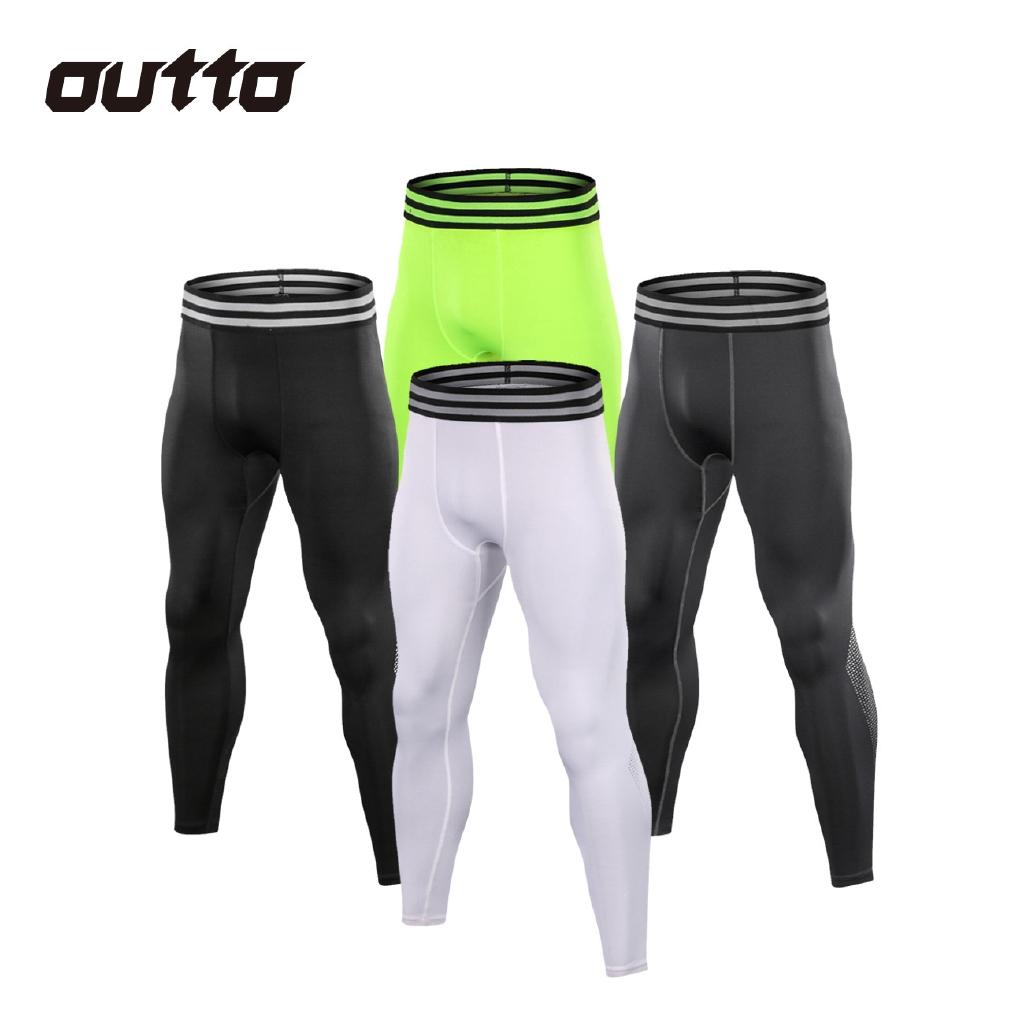 Celana Panjang Legging Pria Bahan Elastis Cepat Kering Untuk Olahraga Fitness Shopee Indonesia
