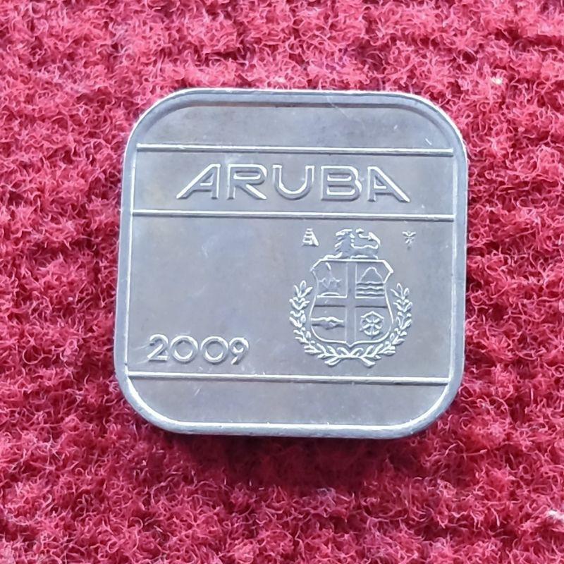 Koin asing Aruba 50 Cents 2009