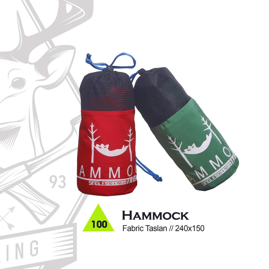 Hammock Ayunan Tempat Tidur Gantung Single Ultralight Shopee Indonesia Hamock