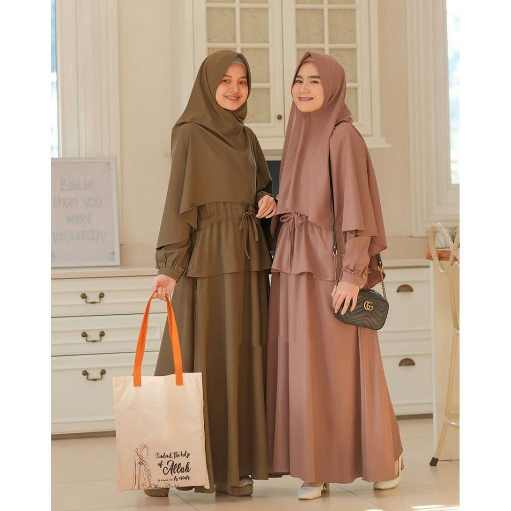 Harga Gamis Syari Polos Terbaik Dress Muslim Fashion Muslim April 2021 Shopee Indonesia