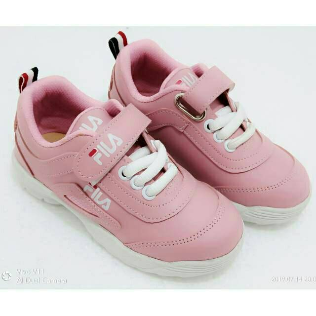 Sepatu Anak Sport Sekolah Merk Fila Untuk Anak Perempuan Dan Laki