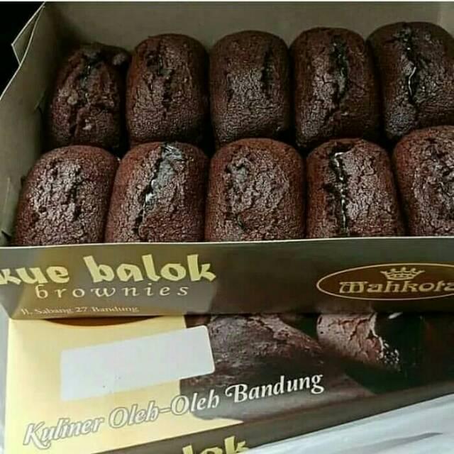 Kue Balok Brownies Mahkota Coklat Lumer Isi 10 Pcs Kuliner Kekinian Oleh Oleh Khas Bandung Shopee Indonesia