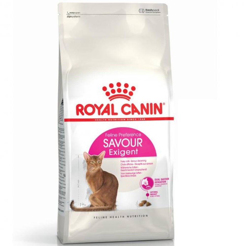 Royal Canin Exigent Aroma Savour Protein Makanan Kucing Dewasa 2kg Shopee Indonesia