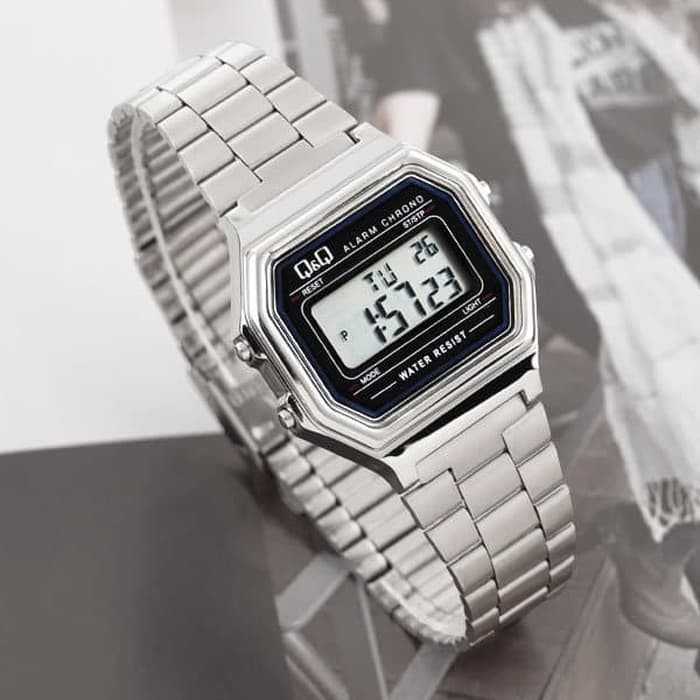 Jam Tangan Digital Q Q Qnq Qq M173 M173j Original Shopee Indonesia