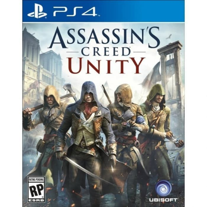 Game Ps4 Assassins Creed Unity Shopee Indonesia