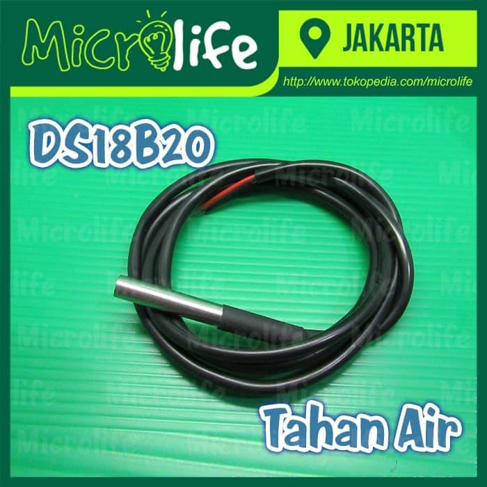DS18B20 Waterproof Temperature Sensor Suhu Tahan Air