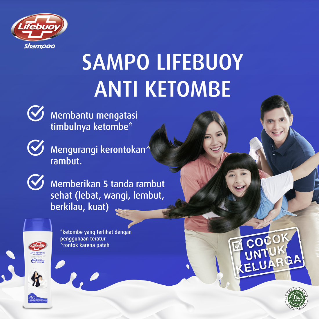 Lifebuoy Shampoo Anti Dandruff 170ml Twin Pack-5