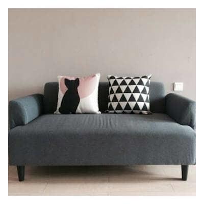 Sofa Minimalis Modern Hemlingby Abu Abu Harga Promo Shopee Indonesia