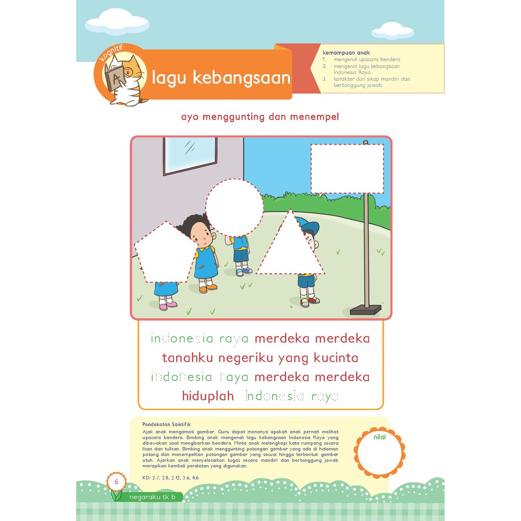 Buku Paud Tk Tematik K13 Kelompok B Tema Negaraku Shopee Indonesia
