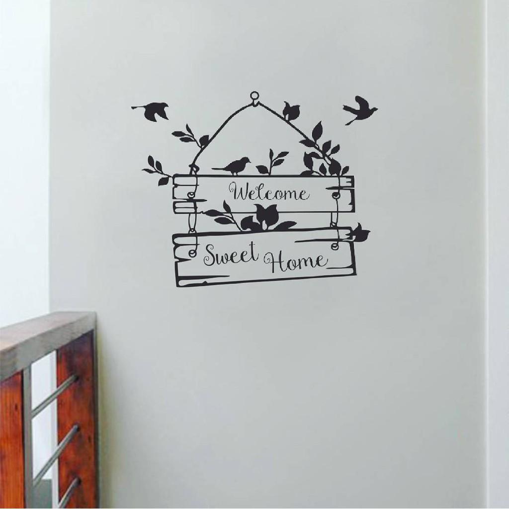 Wallsticker Home Sweet Home Wall vers. 1
