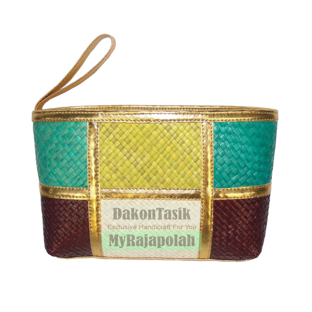 Dompet Kosmetik warna warni IMPOR (Cosmetic pouch IMPORT) BAHAN TEBAL | Shopee Indonesia