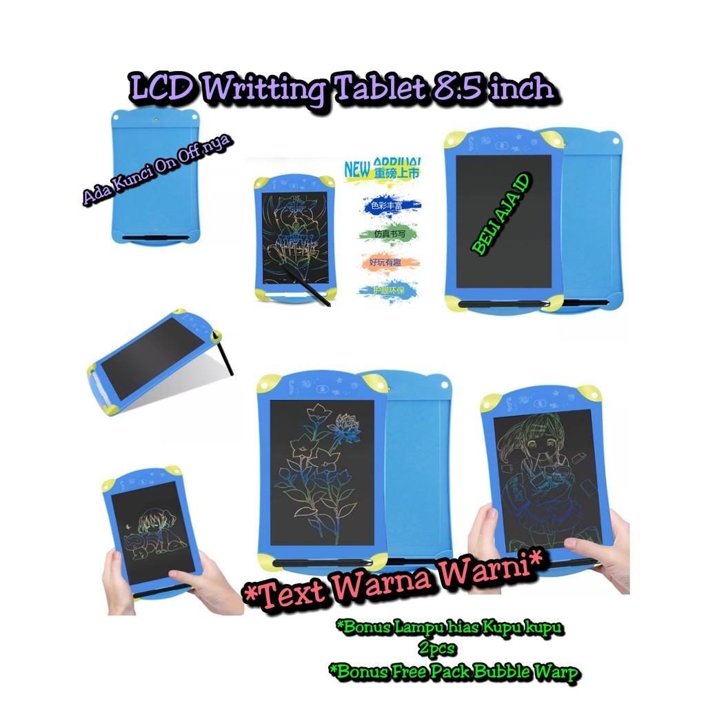 85 Inch Lcd Writing Tablet Board Blackboard Pads Kids Notepad With Drawing 8 5 Papan Tulis Gambar Anak Dan Dewasa Upgraded Pen Shopee Indonesia