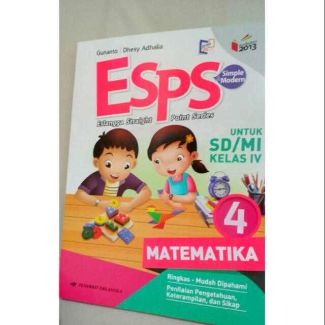 Esps Matematika Kelas 4 Kurikulum 2013 Shopee Indonesia