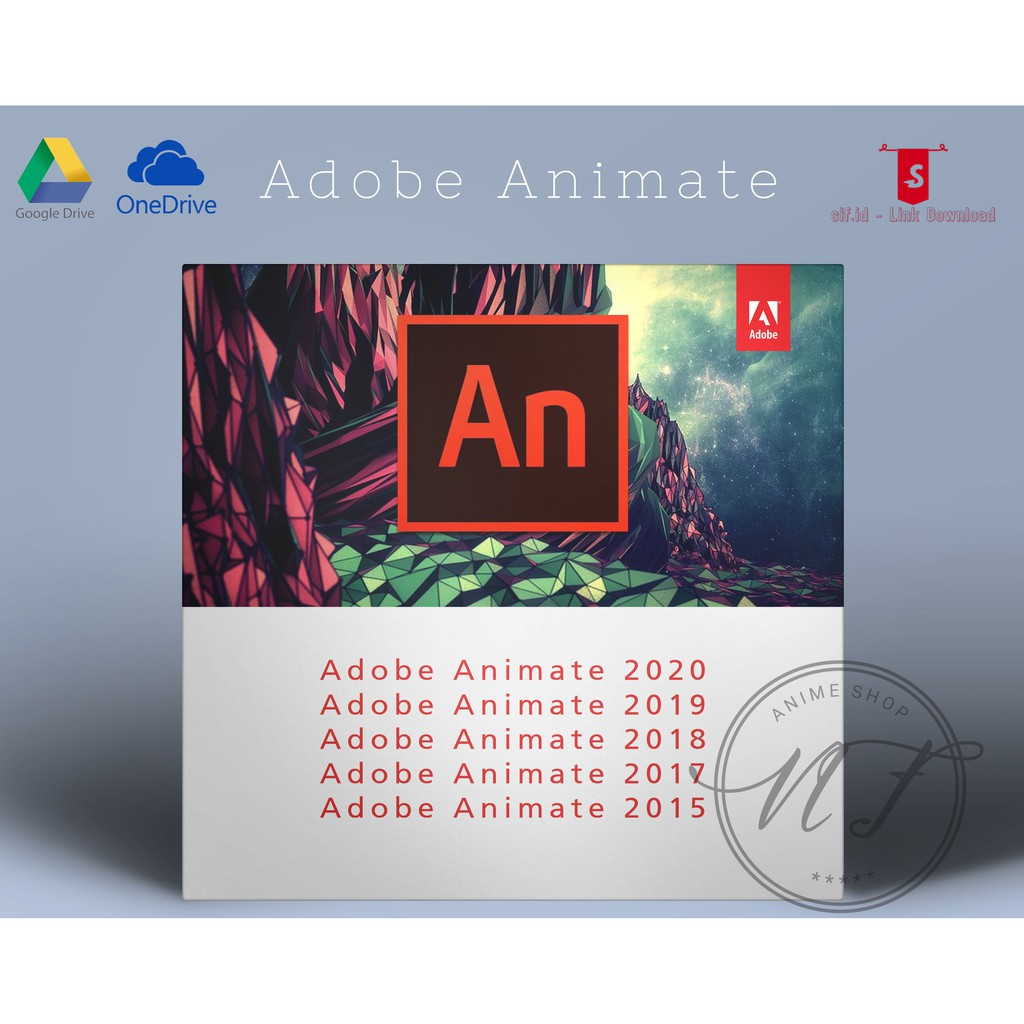 Link Adobe Animate Cc 2020 2019 2018 2017 2015 Full Version Shopee Indonesia