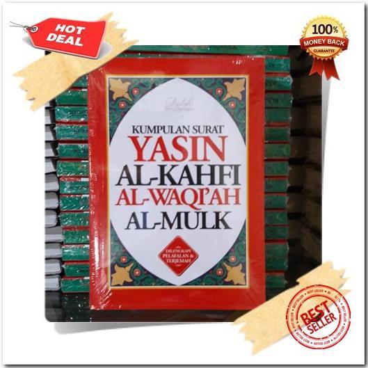 Best Seller Kumpulan Surat Yasin Al Kahfi Al Waqiah Al Mulk Terjemah Latin